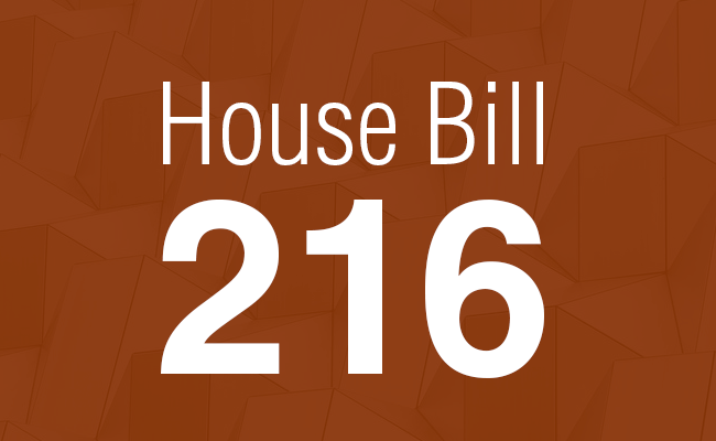 How Does House Bill 216 Affect…