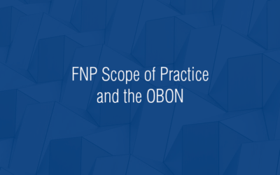 ACNP — FNP Scope of Practice and the OBON