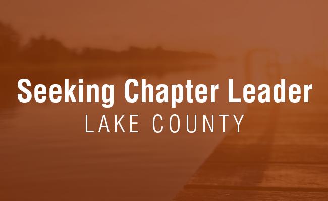 Seeking Lake County Chapter Leader