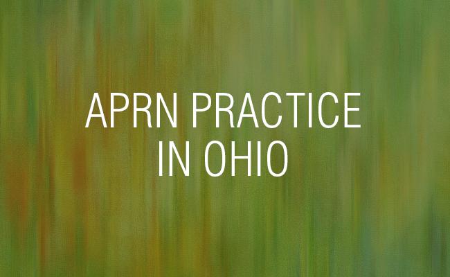 APRN Practice in Ohio
