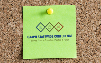 OAAPN Statewide Conference Reminders