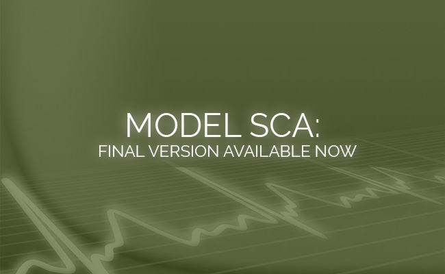 Final Version of Model SCA Now Available!