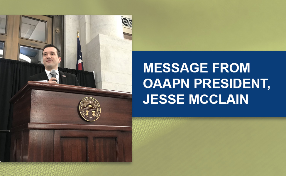 Message from OAAPN President Jesse McClain About Mid-Level Providers