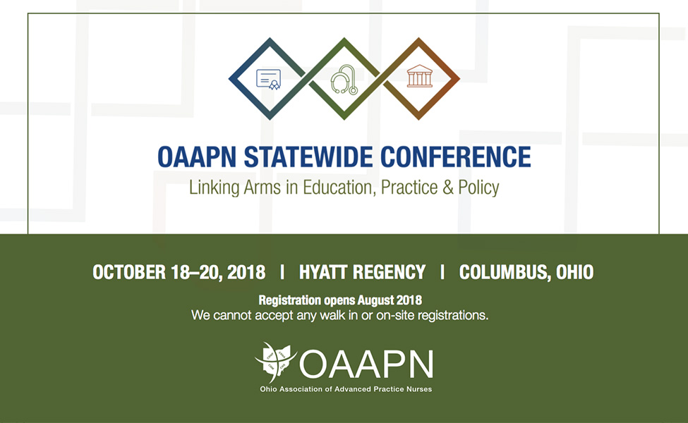 Save the Date – 2018 OAAPN Statewide Conference