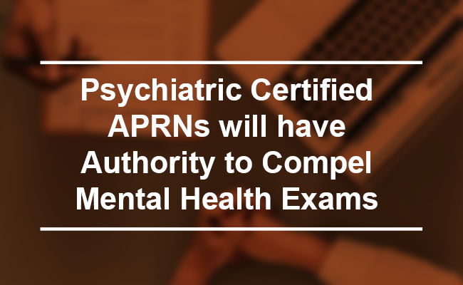 Psychiatric Certified APRNs