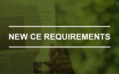 Confused about the New CE Requirements?