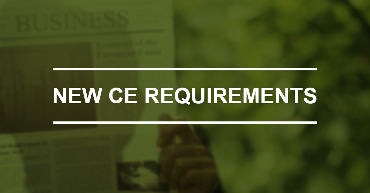 CE Requirements