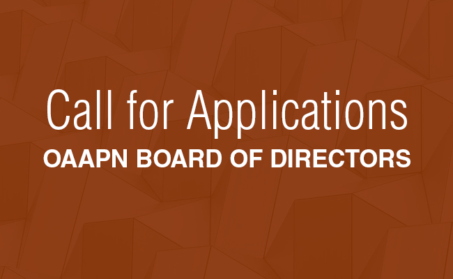 Call for Applications — OAAPN Board of Directors