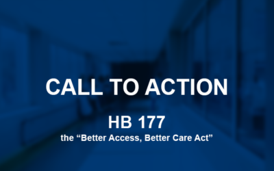 Call to Action: Introduction of HB 177, Better Access, Better Care Act
