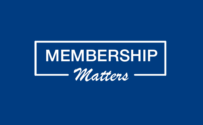 Membership Matters: Advance Your Career & Your Profession