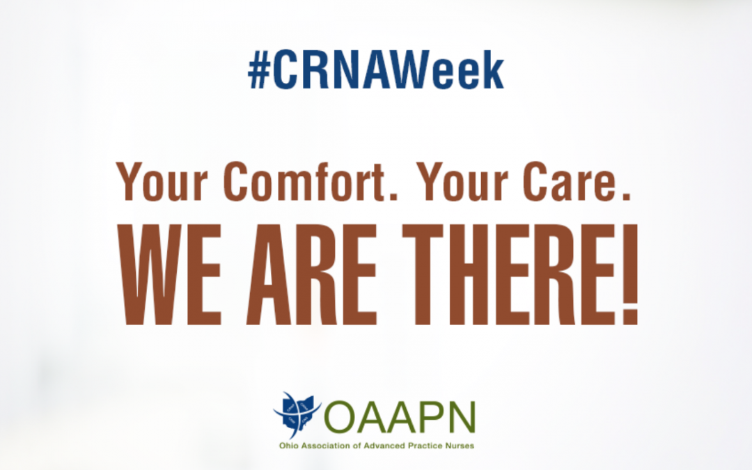 Celebrating National CRNA Week