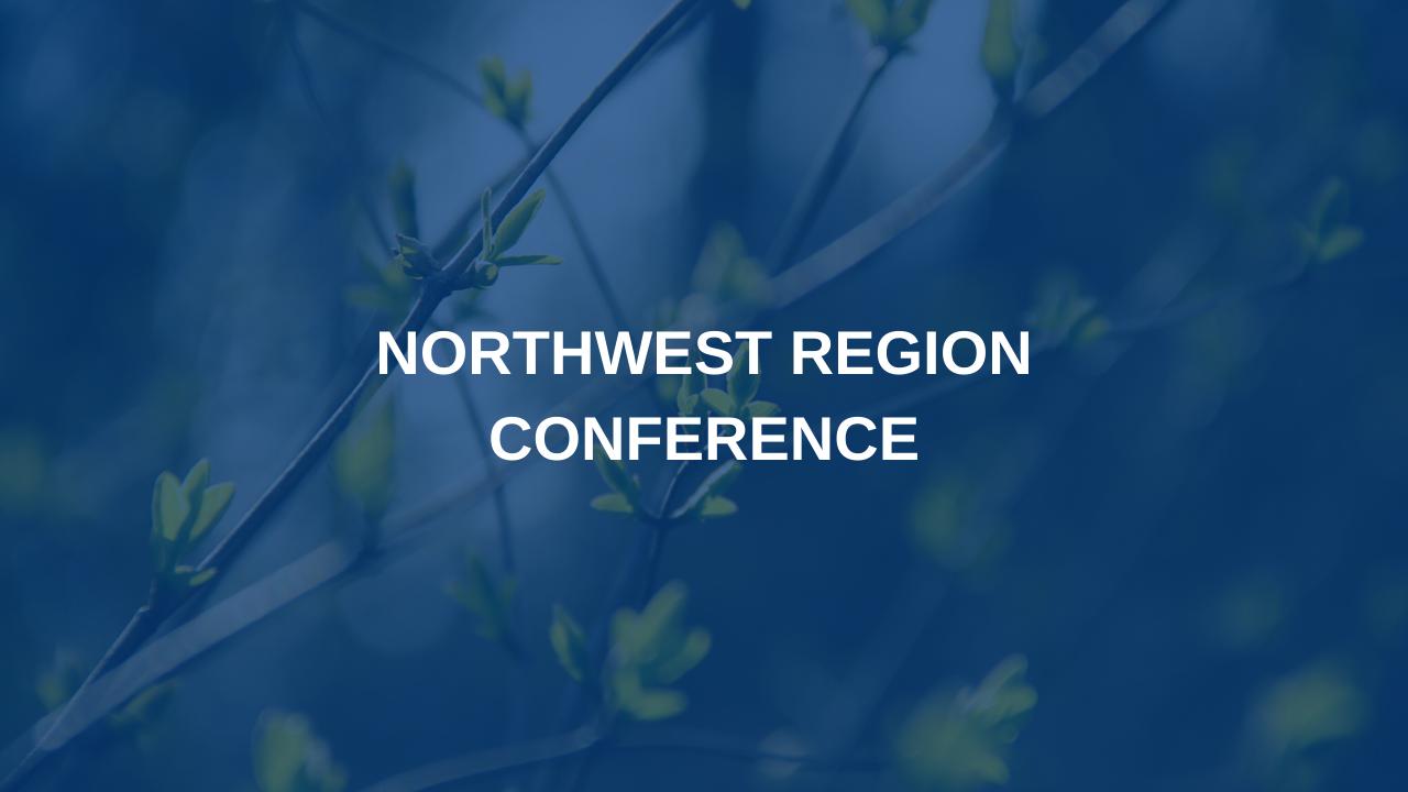 Northwest Region Conference