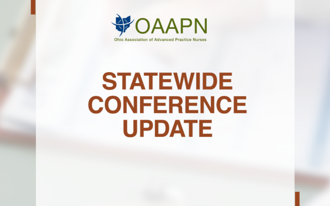 OAAPN Statewide Conference Update