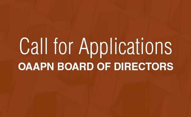 OAAPN Board of Directors