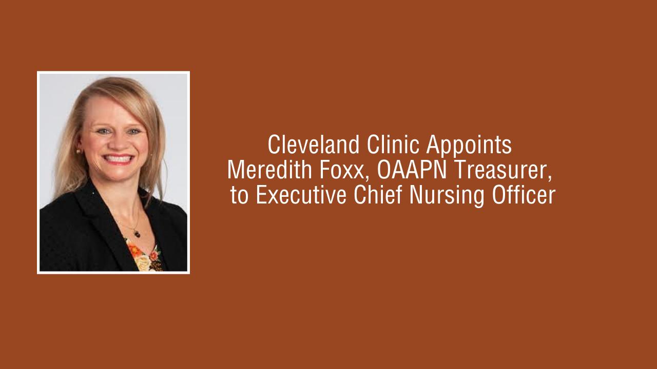 Meredith Foxx, MSN, MBA, APRN