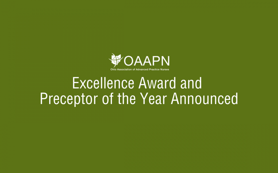 OAAPN Excellence Award and Preceptor of the Year Announced