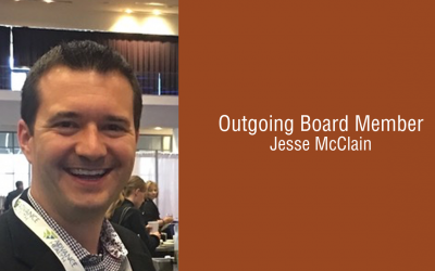 Jesse McClain: Thanking Our Outgoing Board Members