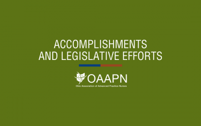 Our Accomplishments and Legislative Efforts