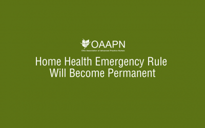 Home Health Emergency Rule Will Become Permanent