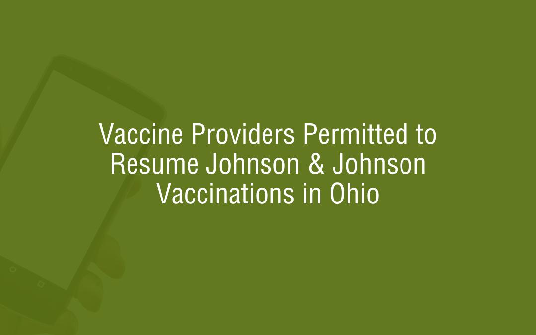 Vaccine Johnson & Johnson