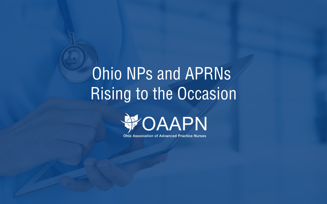 Ohio NPs and APRNs Rising to the Occasion