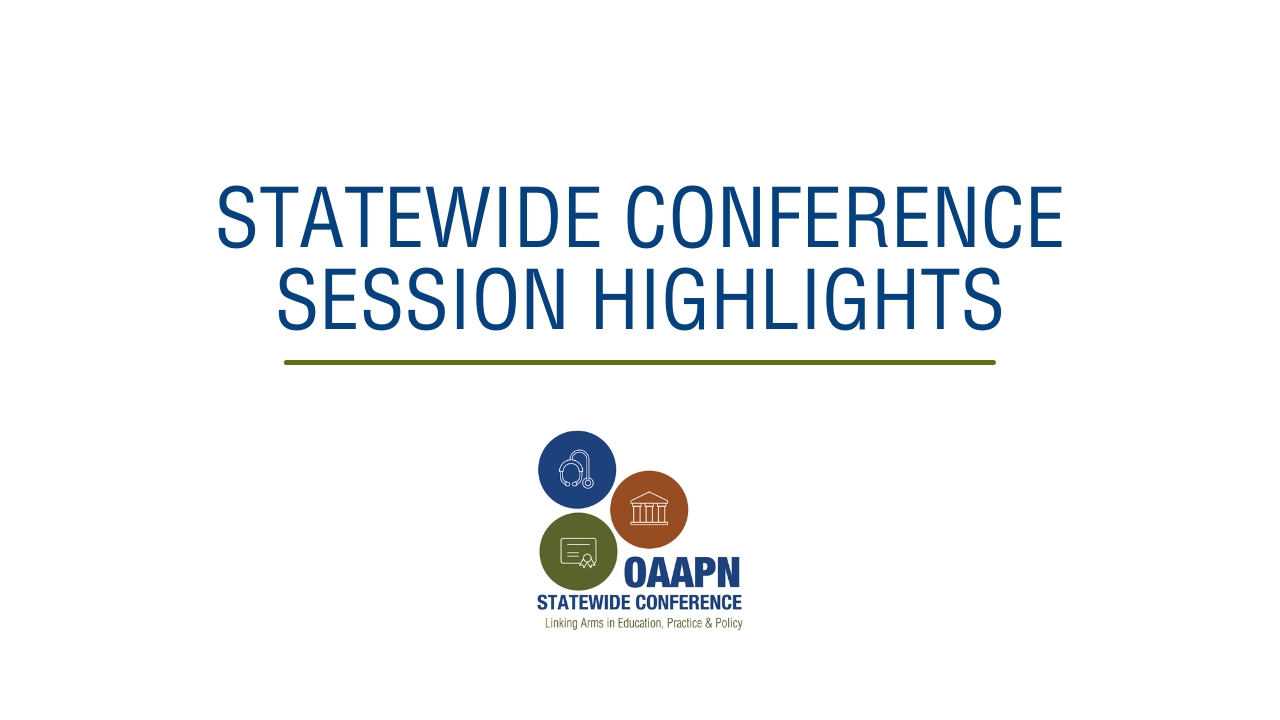 Statewide Conference Session Highlights